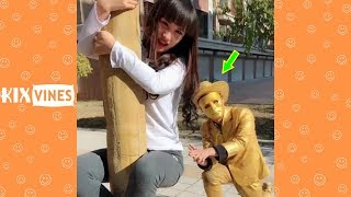 Funny videos 2019 ✦ Funny pranks try not to laugh challenge P83
