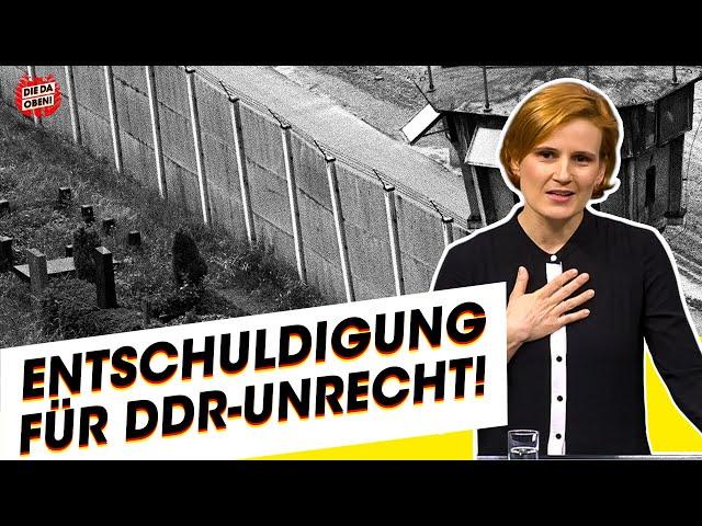 LINKE-Chefin Kipping: Für DDR-Unrecht keine Rechtfertigung!