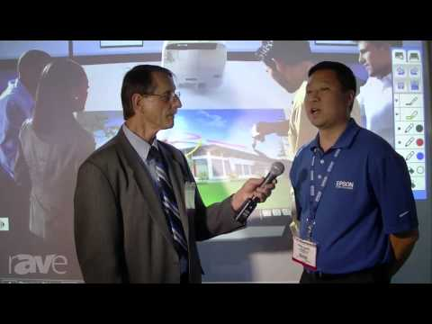 Epson Showcases New BrightLink Pro with Embedded PC Whiteboard