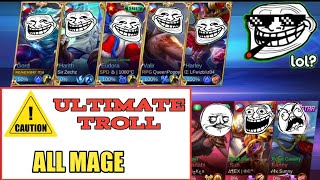 Download Video ULTIMATE TROLL IN ML | ALL MAGE | MOBILE LEGENDS MP3 3GP MP4