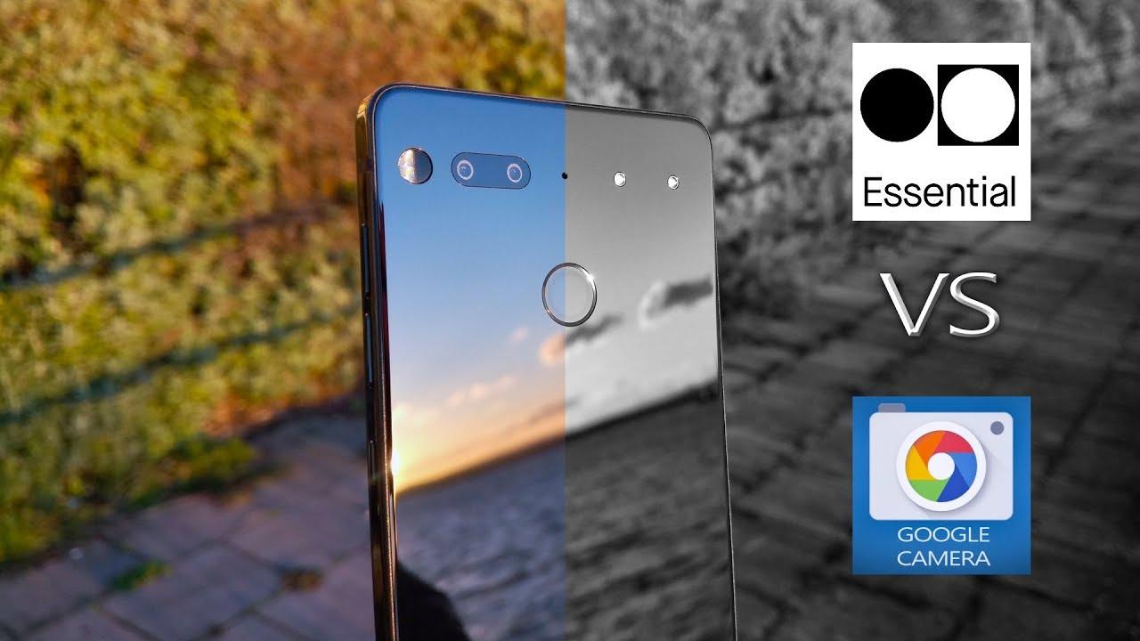 Essential Phone Camera vs Google Camera Review