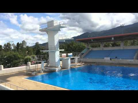 Chiang Mai Thailand Olympic Pool 700 year stadium