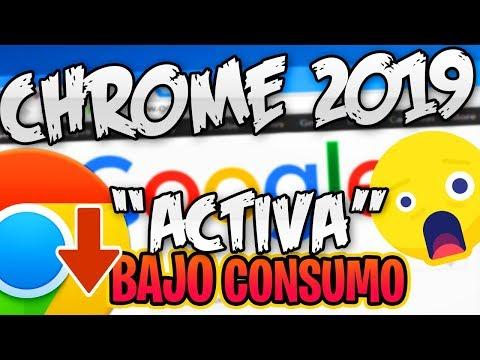 Google Chrome 2019 110%  RAPIDO ⚡  / ACTIVA Menos Memoria RAM / SOLUCION