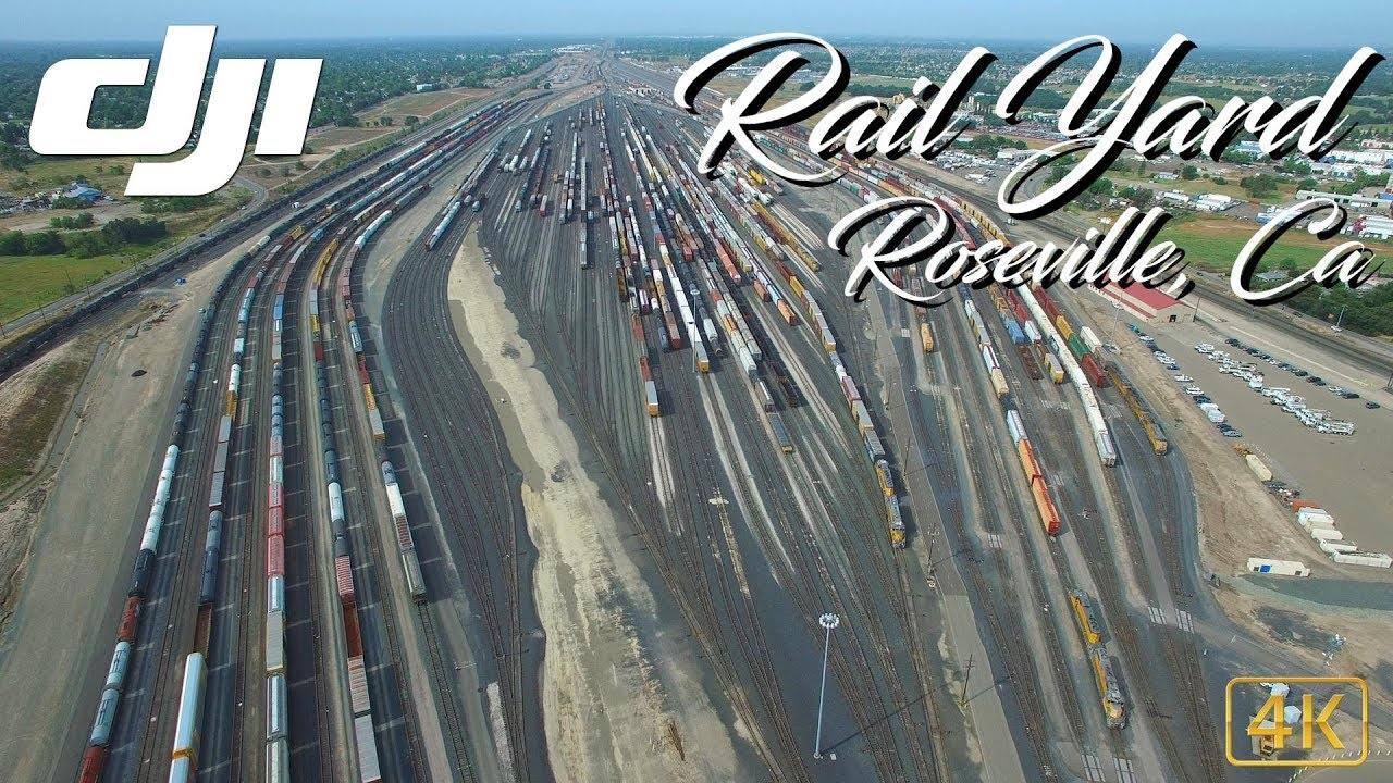 Roseville Rail Yard - The largest rail yard in the West ...
