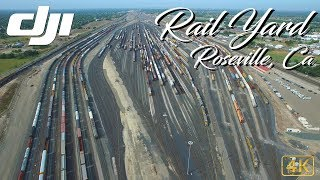 Roseville Rail Yard - The largest rail yard in the West Coast - California - DJI Phantom 3 Pro