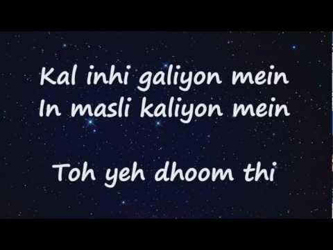 Muskaanein Jhooti Hai (Lyrics HD) - Talaash ft. Suman Sridhar Full Song | Aamir Khan, Kareena Kapoor