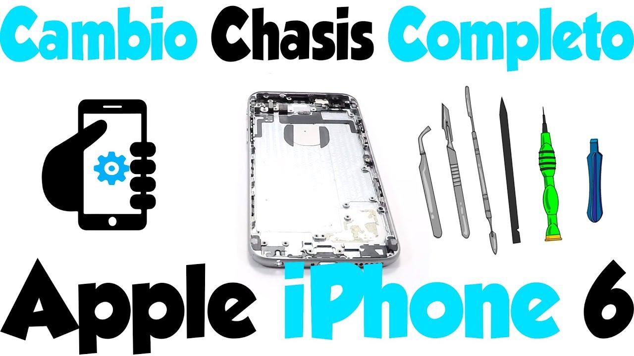 8bda0453922 Cómo cambiar chasis iPhone 6 - ¡Tutorial Completo! - YouTube