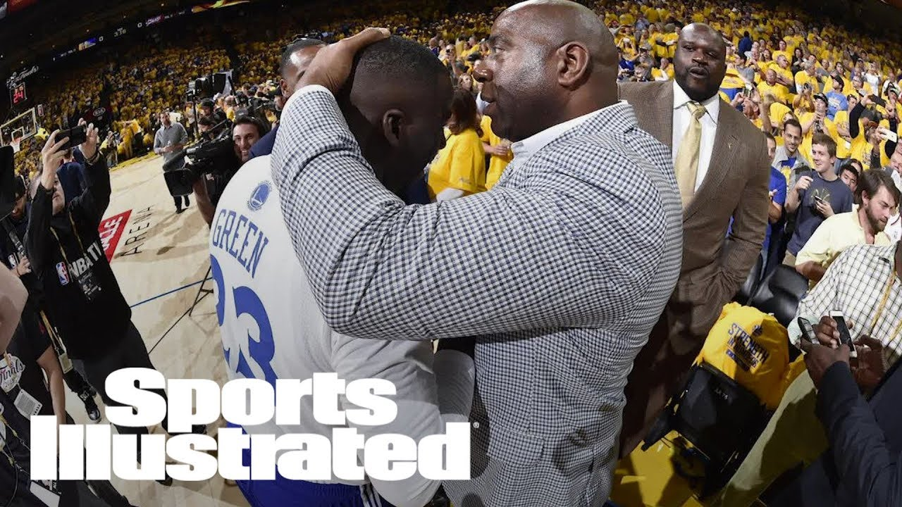 Here's Why Magic Johnson Is Being Subpoenaed As A Witness In Draymond Green's Civil Lawsuit