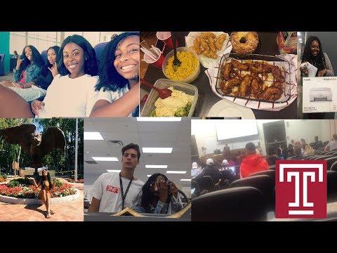 Sophomore SZN Vlog #3 1st Week of Classes @ Temple University