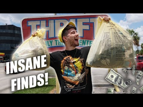 THE MOST INSANE THRIFT FINDS! Trip To The Thrift #282
