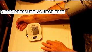 TESTING BLOOD PRESSURE MONITOR OMRON M2 INTELLISENSE