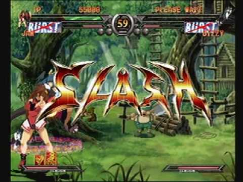Guilty Gear X2 XX Reload PS2 Playstation 2 Gameplay - YouTube