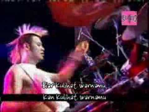 Peterpan feat Eno Netral - Topeng (Live).wmv