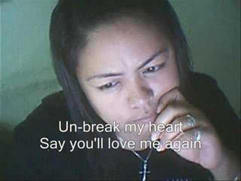 Un-break my Heart (karaoke)