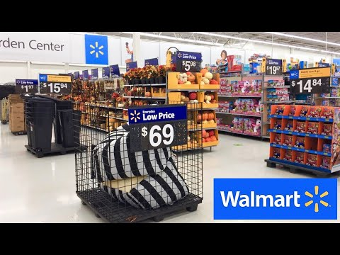 walmart-new-items-fall-home-decor-kitchenware-furniture-shop-with-me-shopping-store-walk-through