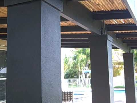 Contemporary Bamboo Pergola Youtube
