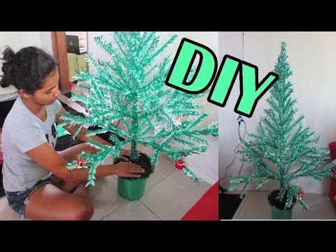 DIY-MINHA ARVORE DE NATAL