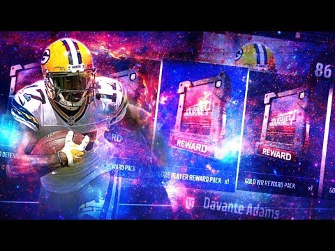 MADDEN 18 JOURNEY REWARDS PACK OPENING! ALL JOURNEY REWARDS! | MADDEN 18 ULTIMATE TEAM