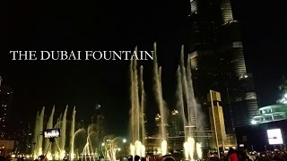 The Dubai Fountain - Hero Enrique Iglesias