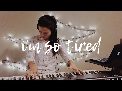 Lauv & Troye Sivan - i'm so tired... (piano cover & sheet music)