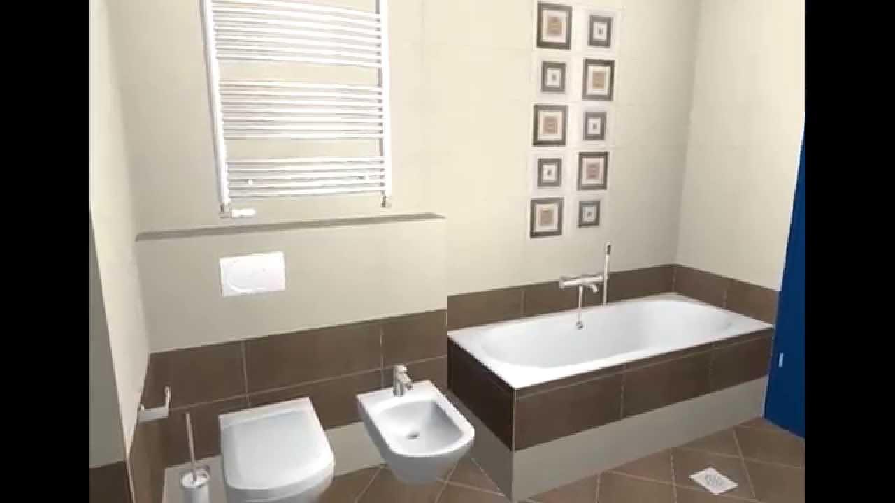 Design 3d pentru baie si alte incaperi interioare youtube for Modele bai dedeman