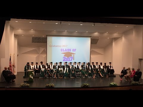 DoDEA Daegu High School Graduation 2017