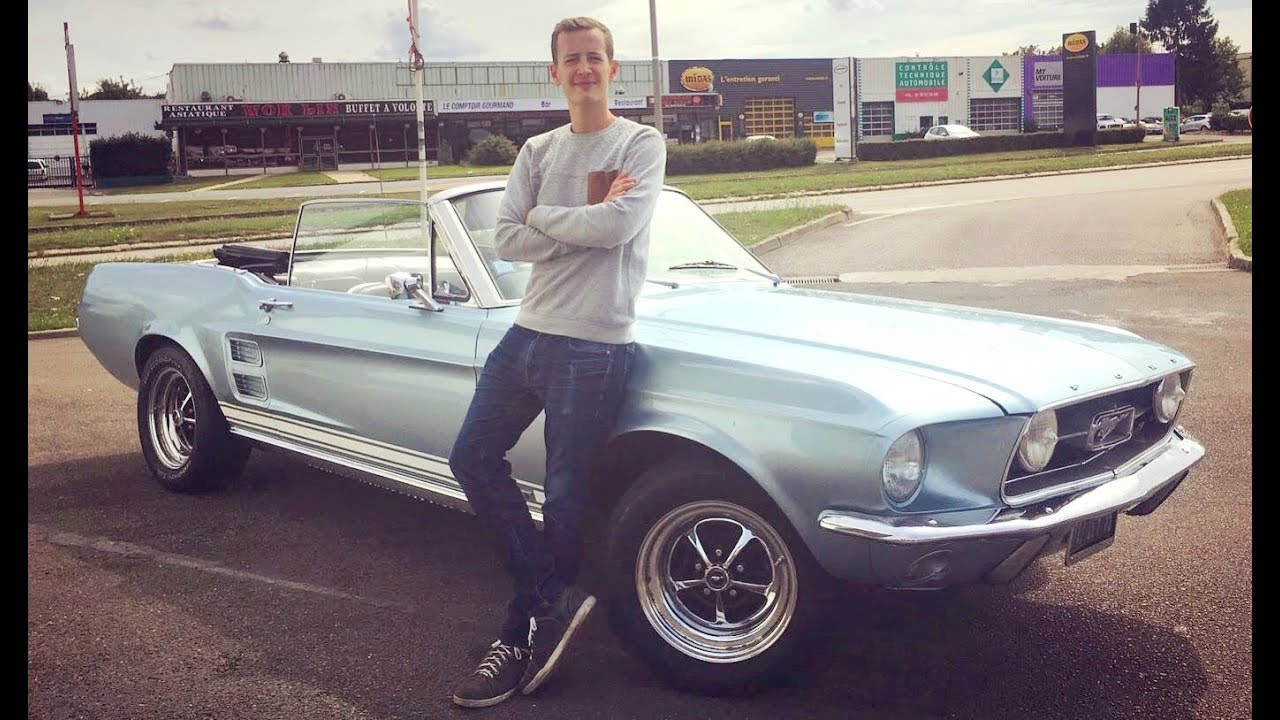Ford mustang gt 1967 des muscles old school