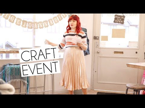 Paige Joanna Craft Event Workshop | Festival Flower Crowns