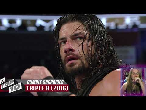 WWE Top 10 Royal Rumble Surprises | REACTION