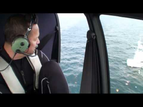 Rescue of a Tsunami-Swept Yacht