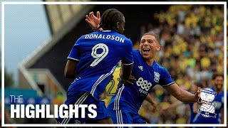 Birmingham City 3-0 Norwich City   Championship Highlights 2016/17