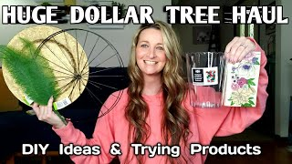 Dollar Tree Haul | HUGE| DIY Ideas | Nane Brands | Trying Products | May 2021
