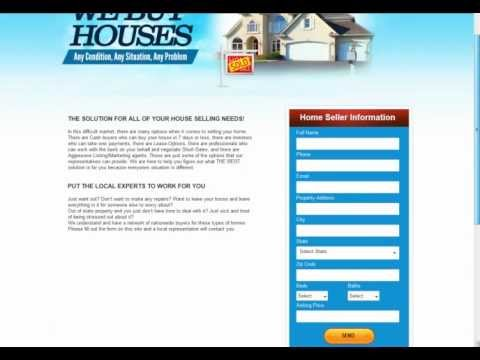 Real Estate Squeeze Page - how to create one in under 5 minutes ...