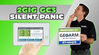 2GIG GC3 - How to Program a Silent Panic Button?