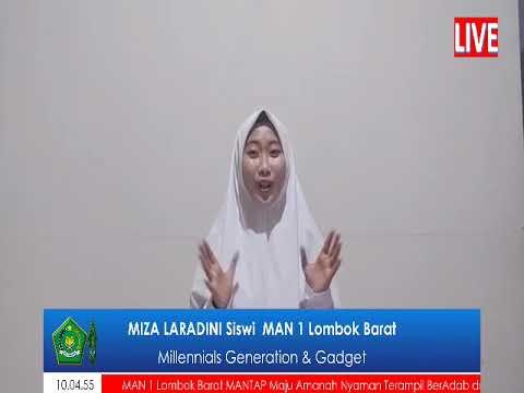 Siswa MAN 1 Lombok Barat Mengikuti Lomba Video bahasa Inggris Tingkat Provinsi NTB
