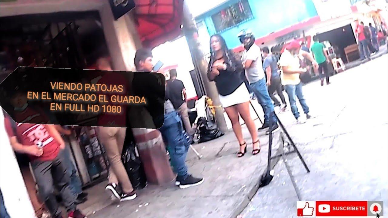 Caminando por Mercado El Guarda En Full HD Parte 1 Guatemala julio 2021 patojas chapinas