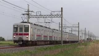 東武10000系11204F栗橋~新古河通過