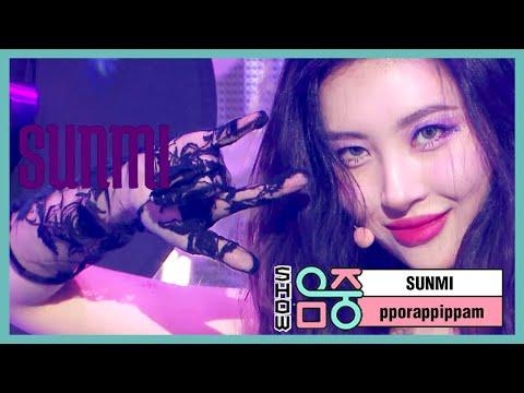 [쇼! 음악중심]  선미 - 보랏빛 밤 , SUNMI -pporappippam 20200704