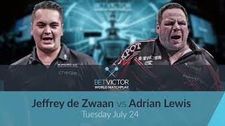 Jeffrey de Zwaan v Adrian Lewis | Preview & Betting Tips from Chris Mason