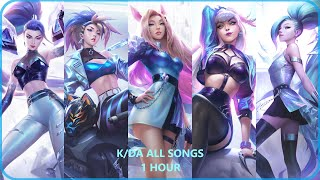 K/DA ALL SONGS  (1 Hour)