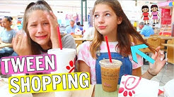 What Shopping with Tween Girls is Really Like FT. Annie Rose & Hope Marie