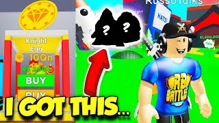 I Bought 300 NEW KNIGHT EGGS In Magnet Simulator And THIS Is What I Got!! (Roblox)