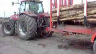 McCauley Log Trailer