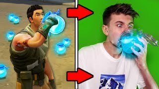 DRINKING FORTNITE SLURP JUICE IN REAL LIFE!! (OMFG!)