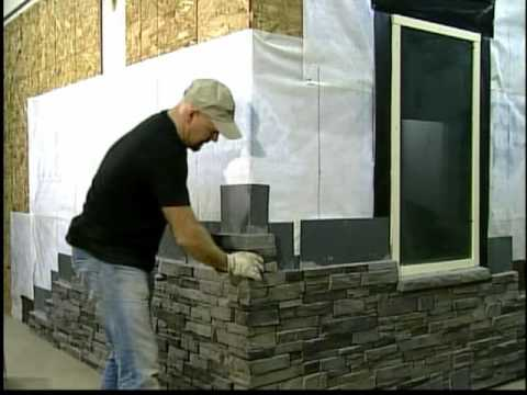 Silvermine stone screw on stone veneer installation stack for How to install stone veneer over exterior brick
