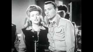 JIMMY WAKELY.  You Are My Sunshine. 1944 Country and Western Performance.