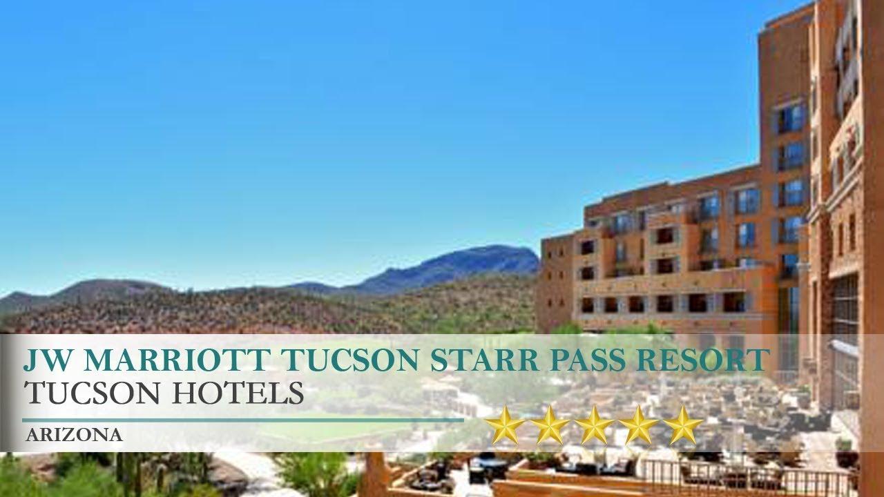 jw marriott tucson starr pass resort hotel - tucson, arizona - youtube