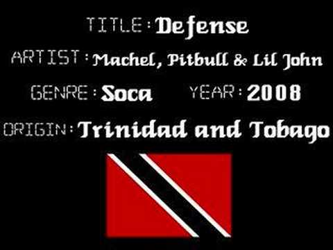 Machel, Pitbull & Lil John - Defense - Soca/Reggaeton Music