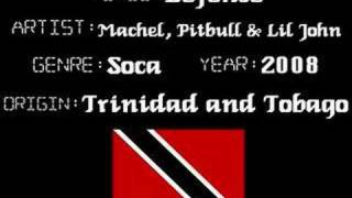 Machel, Pitbull & Lil John - Defense - Soca/Reggaeton Music