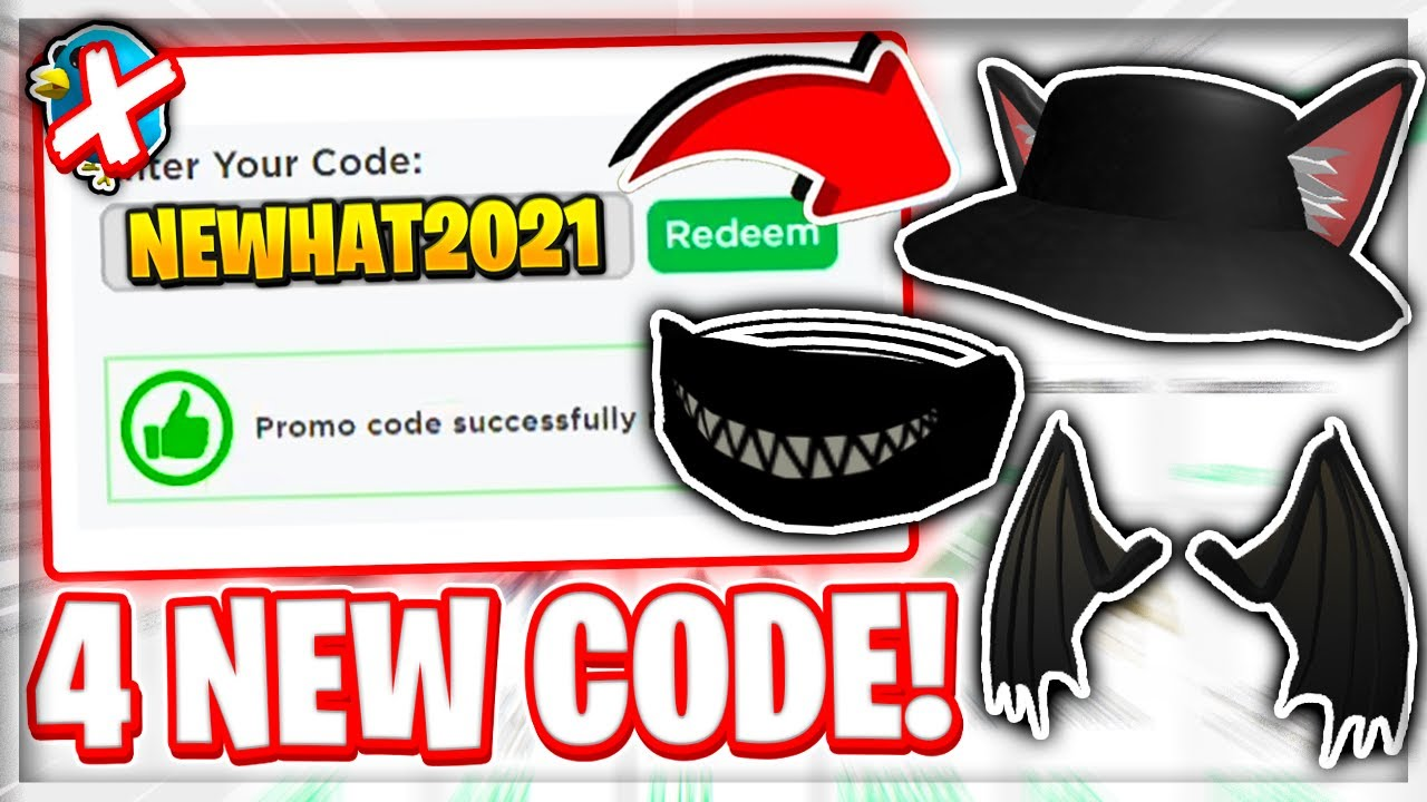 *4 Code!?* ALL NEW PROMO CODES in ROBLOX !?! (March 2021)
